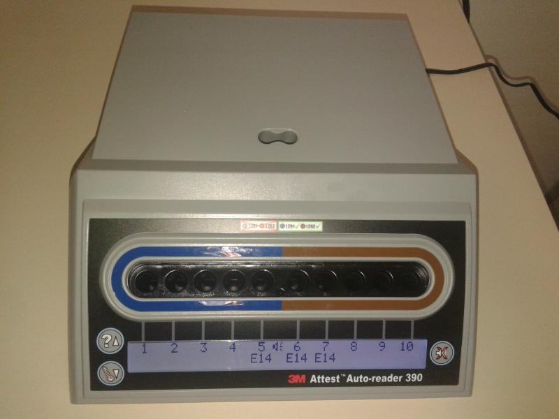 Calibração de incubadora