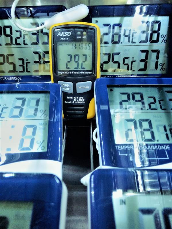 Calibrar termohigrometro
