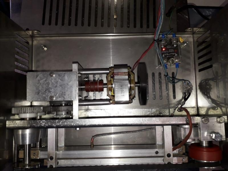 Manutenção maquina seladora