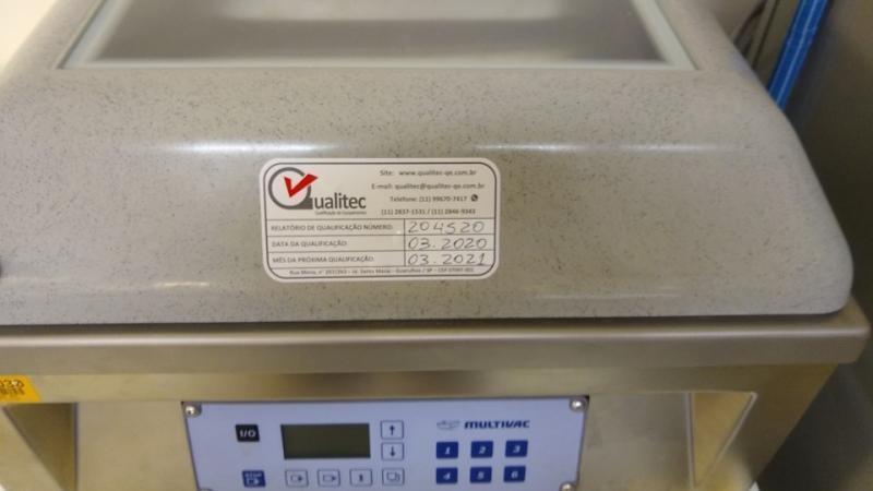 Manutenção seladora a vacuo