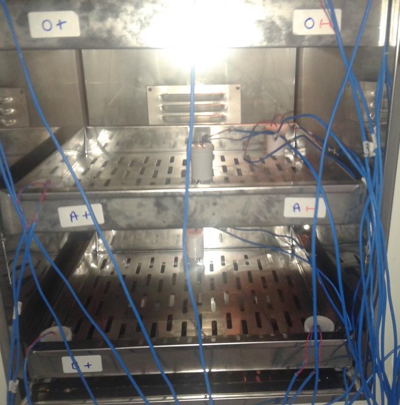 Qualificação de freezer