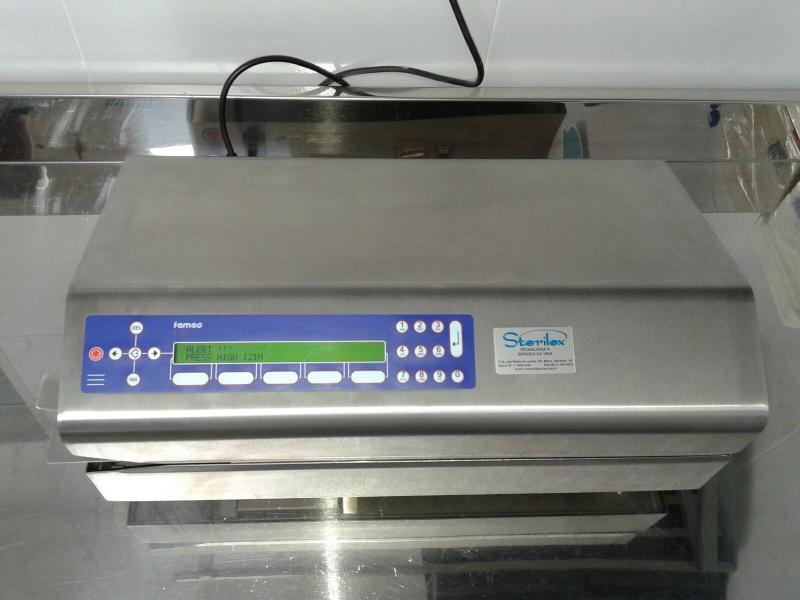 Calibração de Seladora