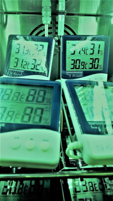 Calibração termo higrômetros